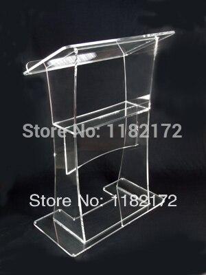 Уникальный дизайн акриловый аналой подиум акриловые подиум кафедрой трибуна