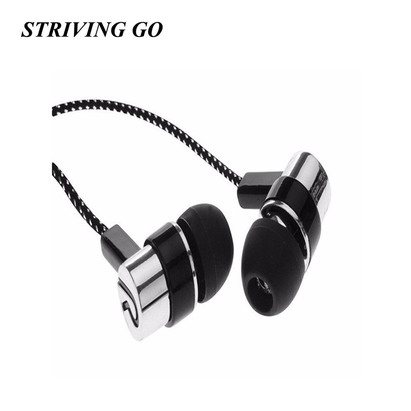 3.5mm LR In-Ear Earphones Stereo Headset Earphone Handsfree Music Sport Earbuds For IPhone Xiaomi Samsung MP3 PK S6 S4 Am115 S8
