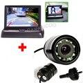 4.3 Дюймов Автомобиля TFT LCD Складной Монитор С ИК Ночного видение Вид Сзади Автомобиля Обратный Парковочная Камера Для Авто Парктроник система