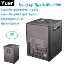 цена на 2Pcs/Lot Newest Stage Hang Up Fire Machine Flame Spark Machine 120-220V Remote Control Professional Dj Lighting Shows Equipments