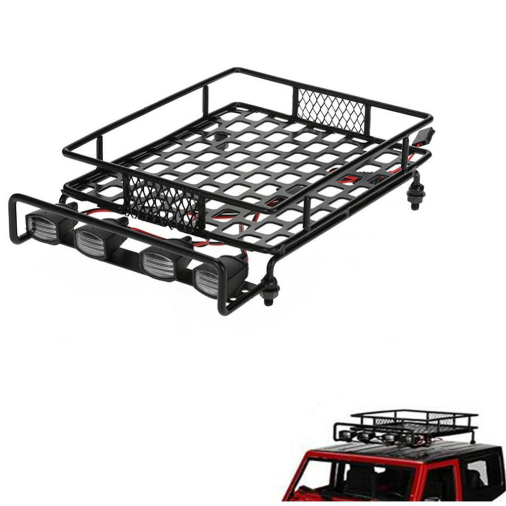 RC Crawler Climbing Truck Roof Rack Luggage Carrier with ...