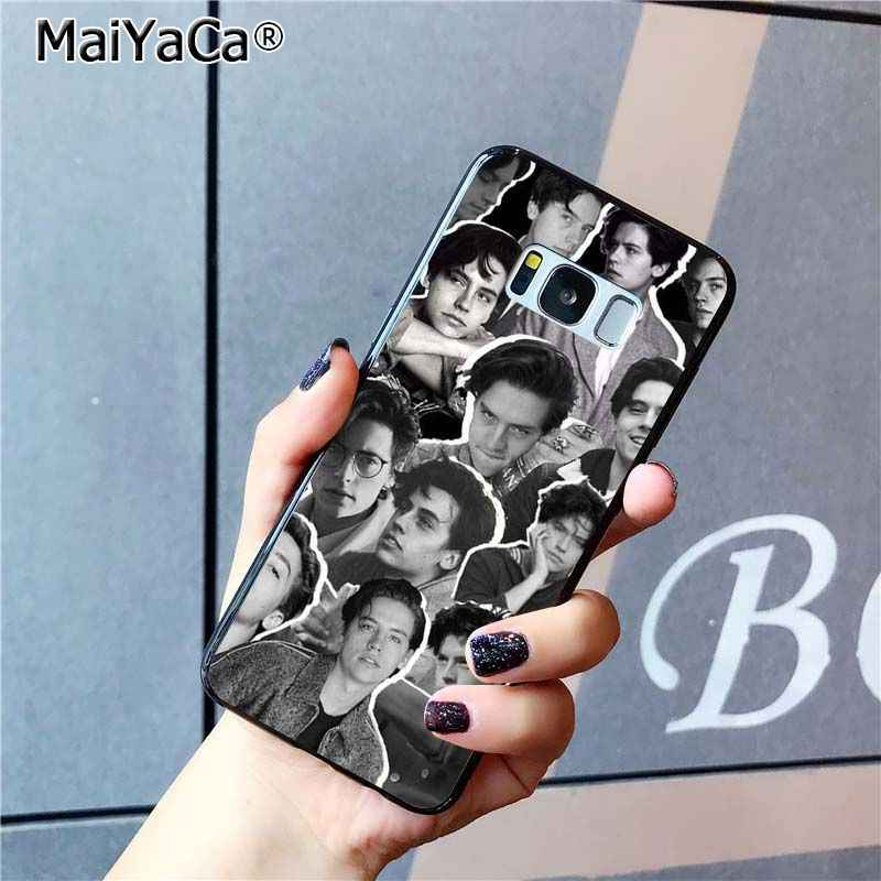 MaiYaCa Hot American TV show Riverdale DIY Printing Phone Case for Samsung Galaxy S6 S7 edge S6 edge plus S5 S9 Plus case