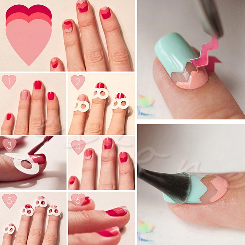 15Pcs 3D Nail Art Transfer Stickers Design Manicure Tips Decal Decoration Set Hot new new fashion french manicure 3d nail art diy stickers tips decal nail decoration bcdi