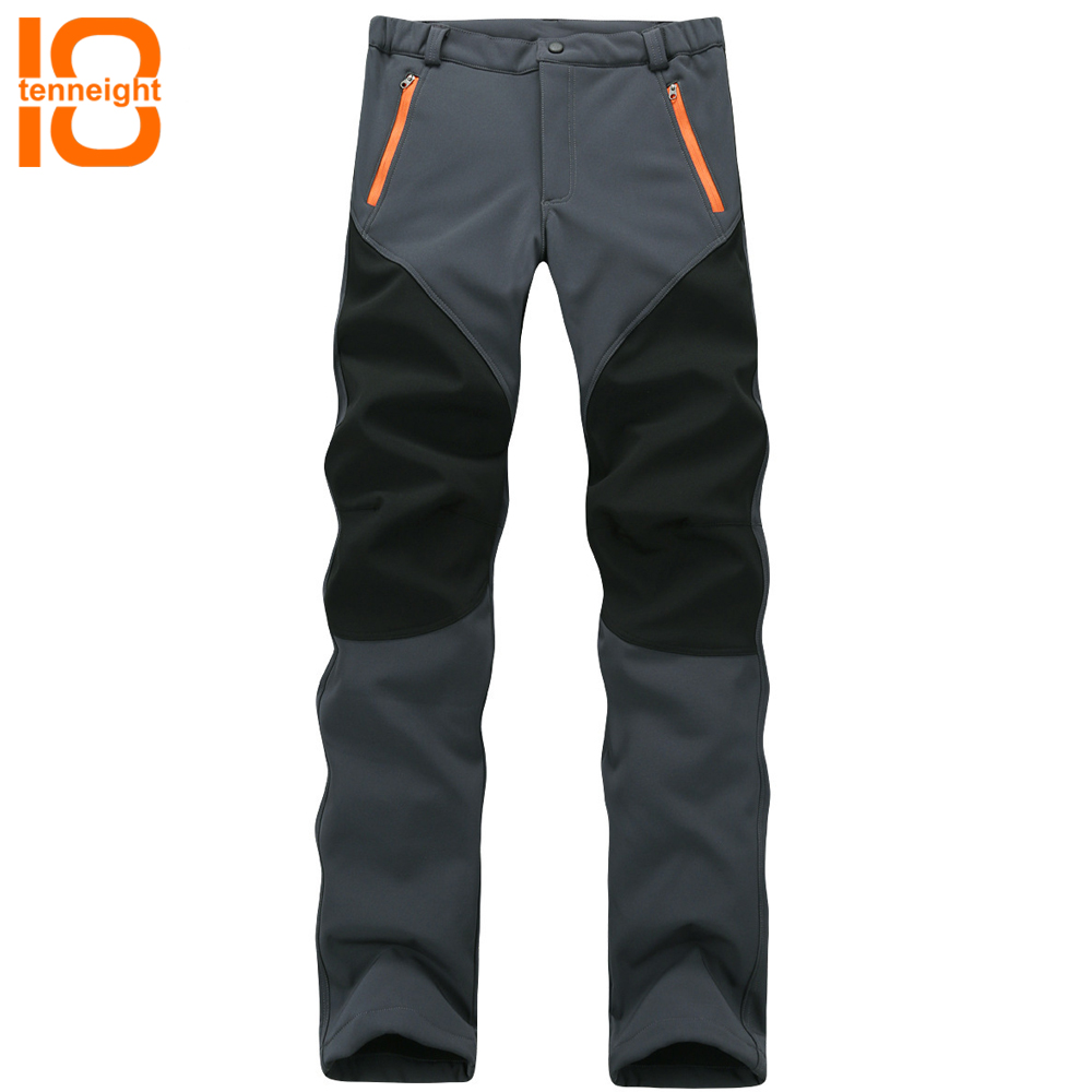 TENNEIGHT Winter Softshell Fleece Hiking Pants men Women Outdoor Sport Trousers Waterproof Windproof Trekking Mountain Climbing free shipping 1pcs cm50tf 24h power module the original new offers welcome to order yf0617 relay