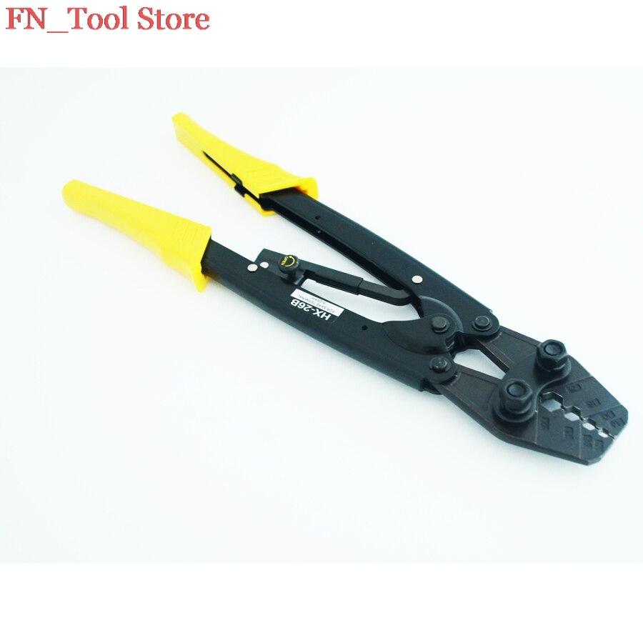 FASEN HX-26B 6-25mm2 PILER SERTIR POUR terminal PINCE À SERTIR RATCHET outils de sertissage de STYLE JAPONAIS