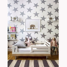 pentagram PVC wall sticker removable creative rooms star wall stickers high quality on hot selling new desingned branded home