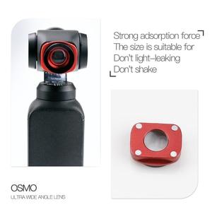 Image 2 - JINSERTA มุมกว้างเลนส์สำหรับ DJI Osmo กระเป๋า Professional HD โครงสร้างแม่เหล็กสำหรับ Osmo อุปกรณ์