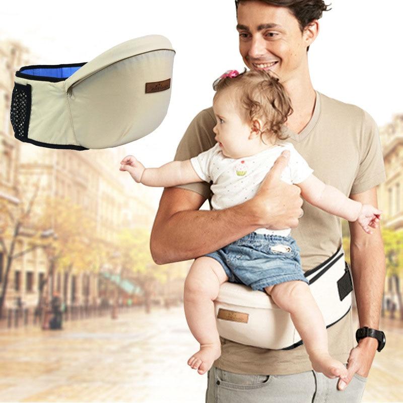 Bebé mochila portador de la cintura de los caminantes de la honda del bebé niños recién nacido bolsa infantil cinturón bebé cómodo asiento 2019 nuevo