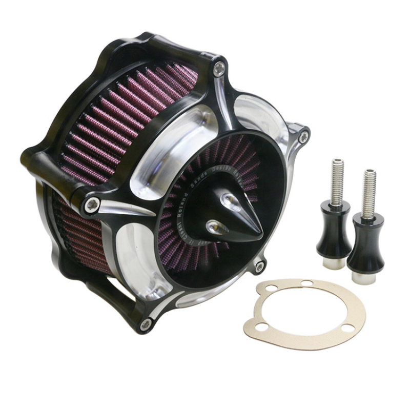 Motorcycle Air Filter System Cleaner Pods Intake moto filtro dos sonhos de ar esportivo for Harley Sportster XLH1200 1991 2002