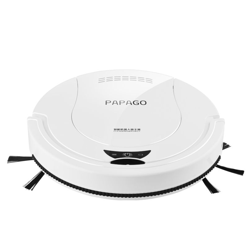 PapaGo Sweeping robot Household Ultra-thin Fully automatic intelligent vacuum cleaner Wipe the mopping machine цена 2017