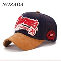 Brands NUZADA Men Women Baseball Cap Snapback bone Sports Hats Caps Hip Hop 100% cotton Suede Washing effect cm-001