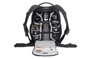 Image 4 - Hurtownie nowa oryginalna Lowepro Flipside 500 aw FS500 AW ramiona torba na aparat torba na aparat antykradzieżowy