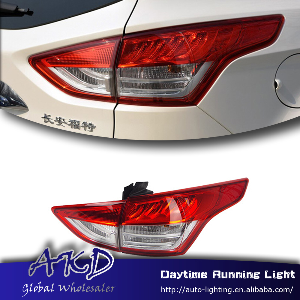 Akd car styling tail lamp for ford kuga escape 14 16 tail lights for kuga led tail light led rear lamp drl brake park stop lamp