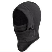 Новая уличная спортивная шапка для шеи, головной убор для зимнего катания на лыжах, ветрозащитная теплая маска, мотоциклетная велосипедная анти-Пылезащитная шапка с капюшоном для всего лица