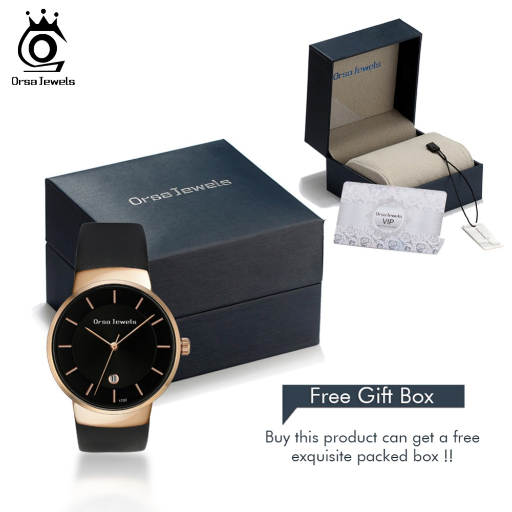 ORSA JEWELS Dress Watch For Women Luxury Fashion 4 Colors Wristwatches Office Ladies Gift Relogio Feminino Jewelry OW04 6