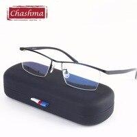 Gentle Men Glasses Top Quality Stainless Frames Men S Business Style Optics Glasses Frame For Prescription