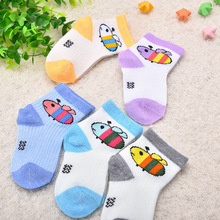 5 Pair/lot New Soft Cotton Boys Girls Socks Cute Cartoon Pattern Kids Socks For Baby Boy Girl 7 Kinds Style Suitable For 0-3Y 5 pairs lot kids socks cute cartoon cotton socks for school boys girls pug dog rainbow emoji stripe 6 style