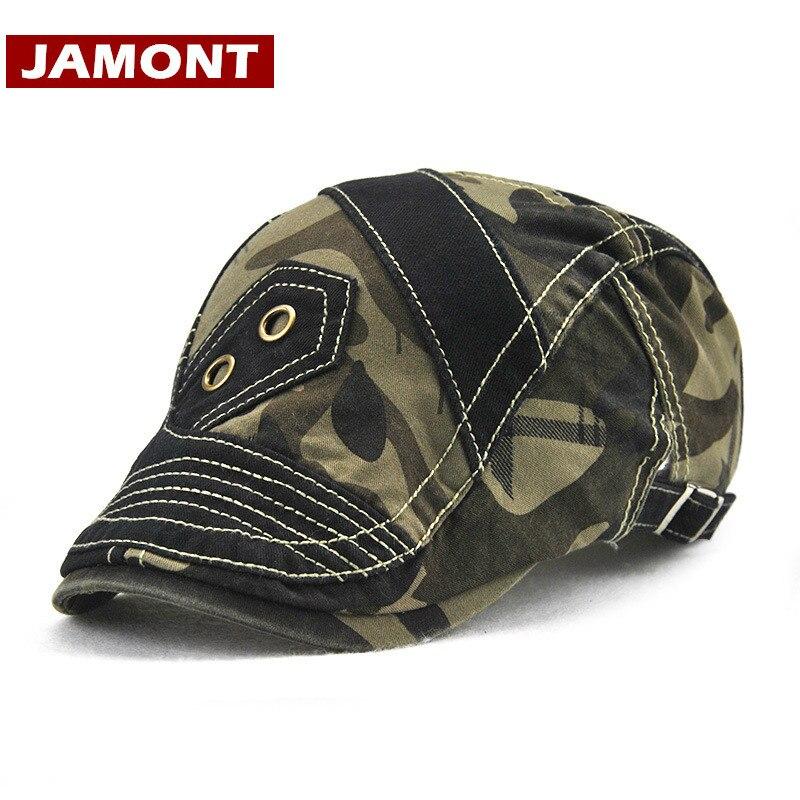 Beret Hats Sun-Hat Sway-Cap JAMONT Women Patchwork for Visors Gorras Casquette Wholesale