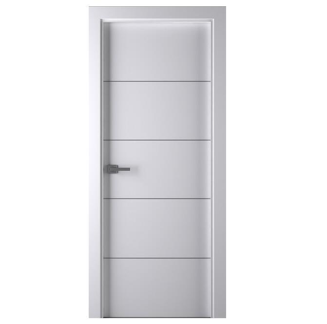 New Design Solid Wooden Door Lacquered Enamel Modern Interior Door Slab