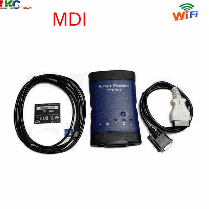 2018 Haute Qualité OBD Multiple Diagnostic Interface Sans HDD Wifi G---M MDI Auto Scanner DHL LIVRAISON