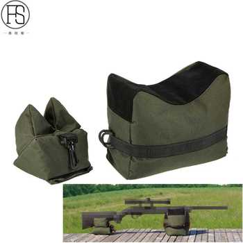 FS Sniper Shooting Bag Gun Front Rear Bag Rest Target Stand Rifle Support Sandbag Bench Unfilled Outdoor Tack Driver Hunting Bag honda odyssey