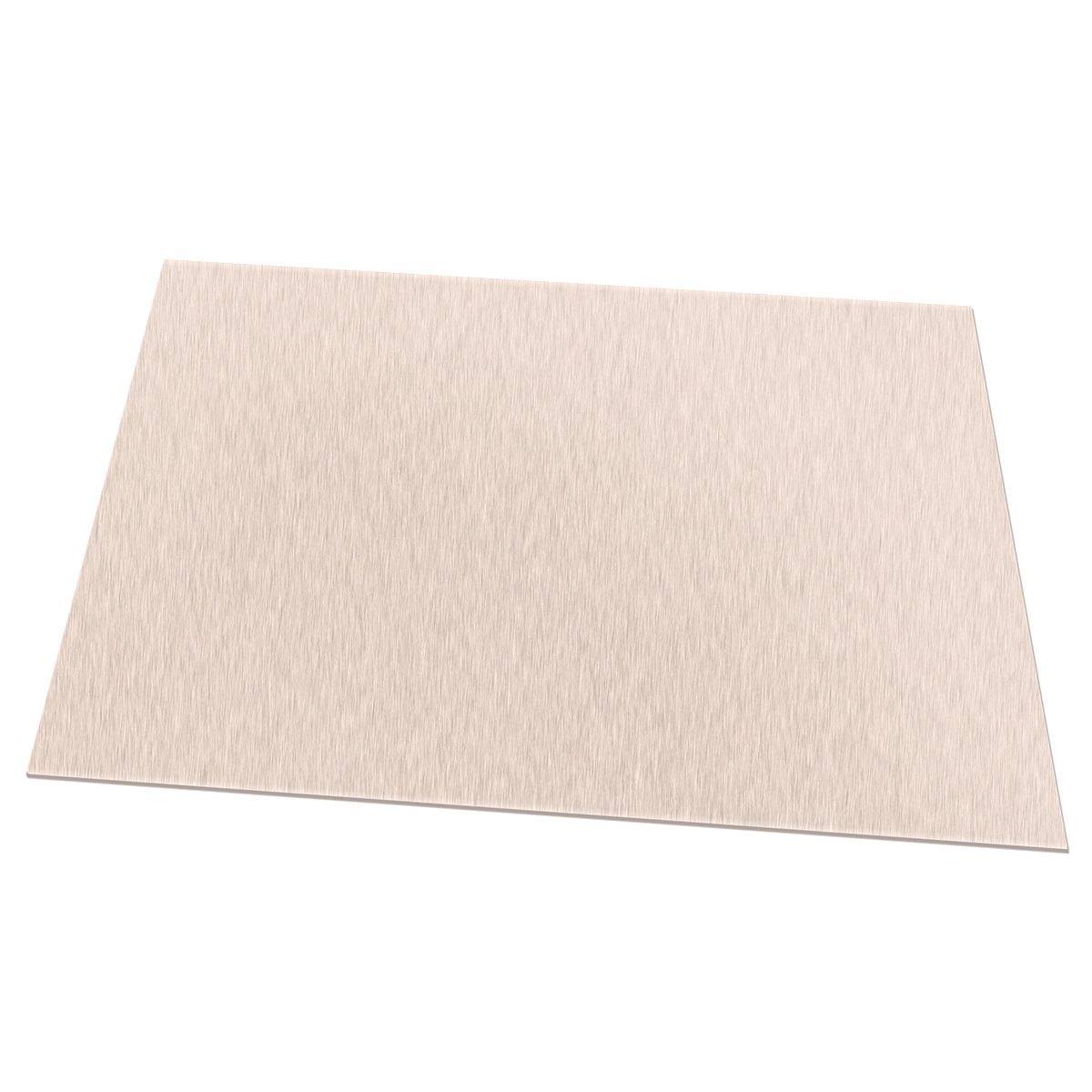 """set of 4 10 Gauge Stainless Steel 2B Mill Finish 304 Sheet Plate 6/"""" x 12/"""""""