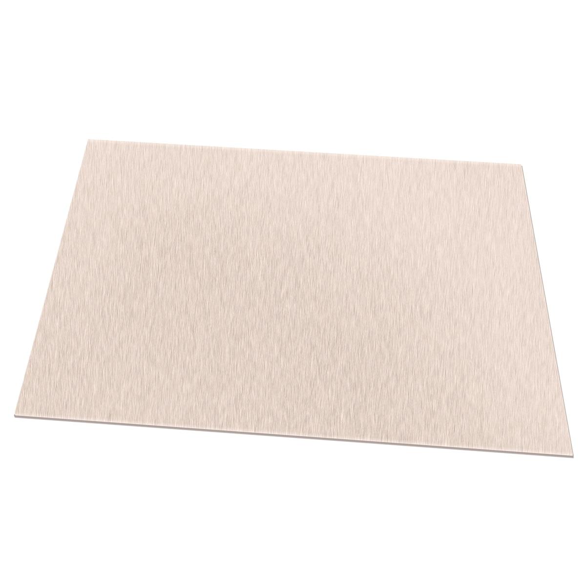 "set of 4 20ga Stainless Steel 2B Mill Finish 316 Sheet Plate 6/"" x 12/"""