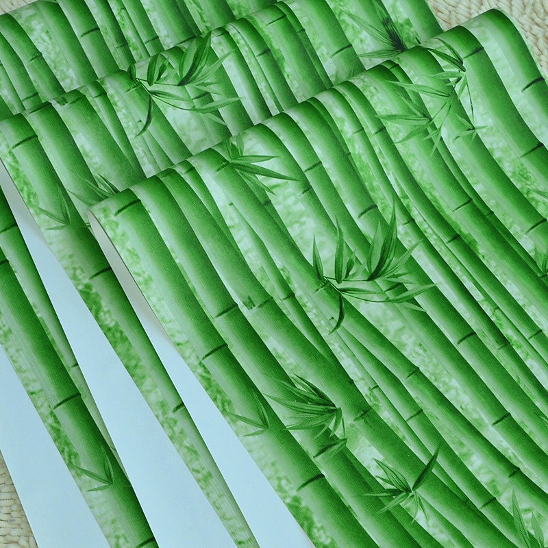 3d Papel de parede Bamboo wallpaper Rolls for Wall Living room 3d wall paper Roll TV background 3d wallcoverings beibehang elegant bamboo wallpaper 3d papel de parede roll livingroom sofa background wallpaper green bamboo forest wall paper