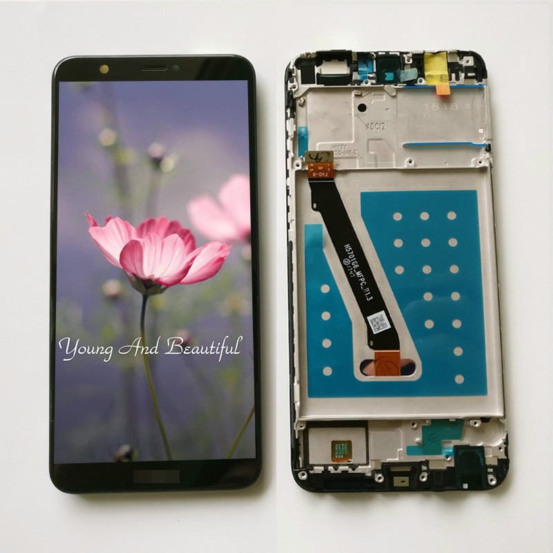 100% Testato NUOVO 5.6 pollici Per Huawei P Smart FIG-LX1/FIG-L21 Display LCD Full + Touch Screen Digitizer Assembly con Telaio100% Testato NUOVO 5.6 pollici Per Huawei P Smart FIG-LX1/FIG-L21 Display LCD Full + Touch Screen Digitizer Assembly con Telaio