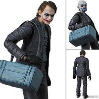 MAFEX NO.015 Batman The Dark Night The Joker PVC Collectible Figure Model Toy 15cm KT3726