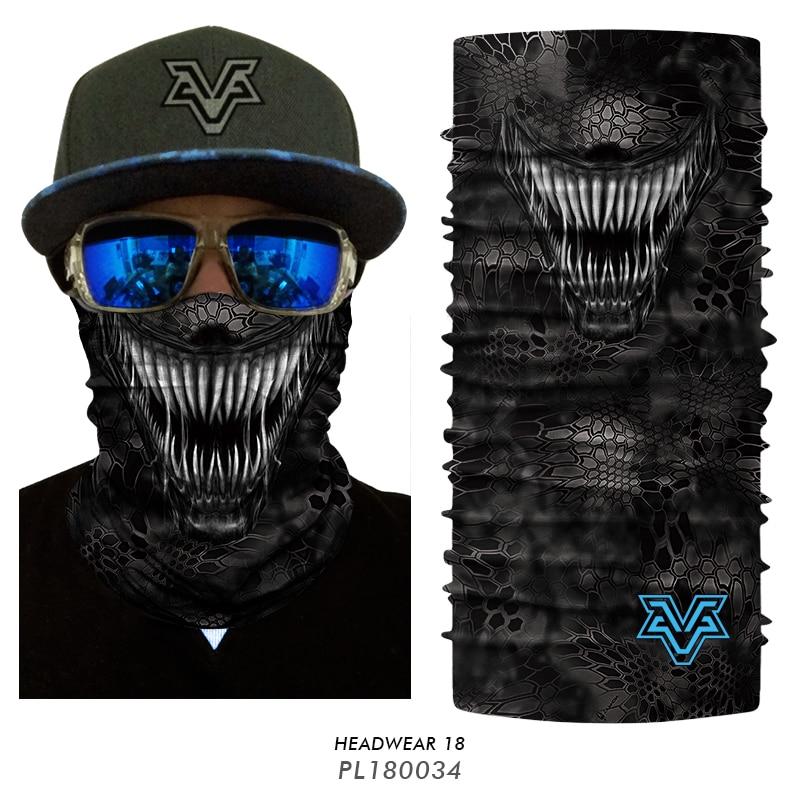 3D Balaclava Venom Motorcycle Mask 13