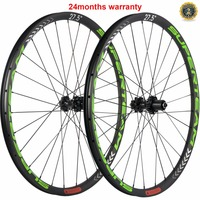 SUPERTEAM 27er MTB Carbon Wheels Tubeless Carbon Wheelset 650b Carbon MTB Wheels 30mm width 25mm depth Cyclocross Wheelsets