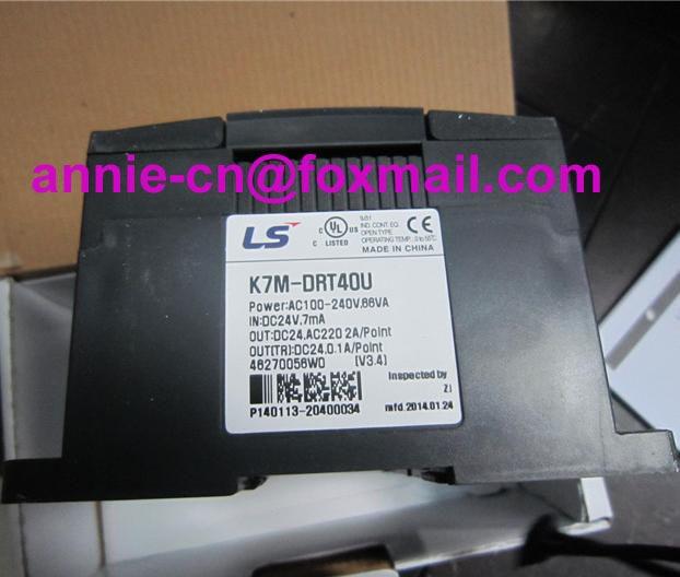 K7M-DRT40U  LS(LG)  100% New and original  PLC vitek бритва электрическая vitek vt 8265 b