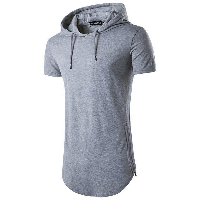 a2a8c9b55 T-shirt Mens T Shirts Mens Hoodies and Sweatshirts Tshirt Warm T Shirt  Hoodies Men Tops Tees Cotton short Sleeve Clothing