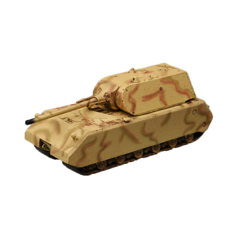 Chanycore Easy Model Pz.Kpfw VIII Mouse Maus camouflage German Super Heavy Tank Finished Model Kit 1/72 36205 Kids Gifts 4360