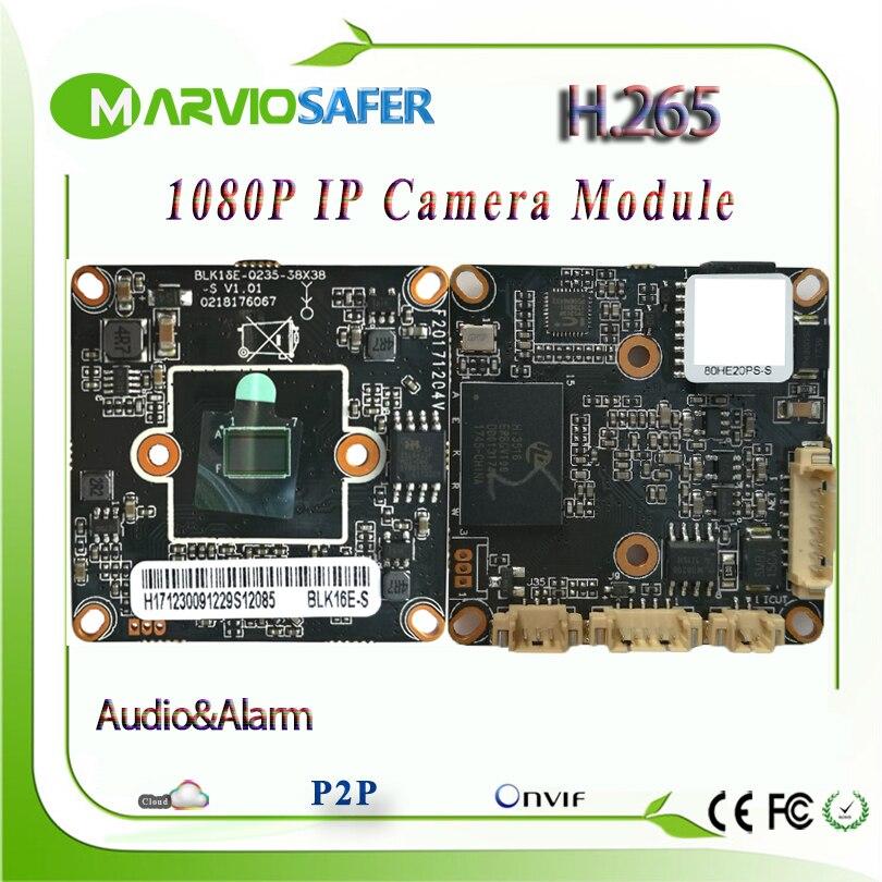 H.265 2MP 1080 P Full HD Réseau CCTV Caméra IP Conseil Modules Deux-way Audio Onvif DIY Votre Propre Vidéo Surveillance Système RTSP