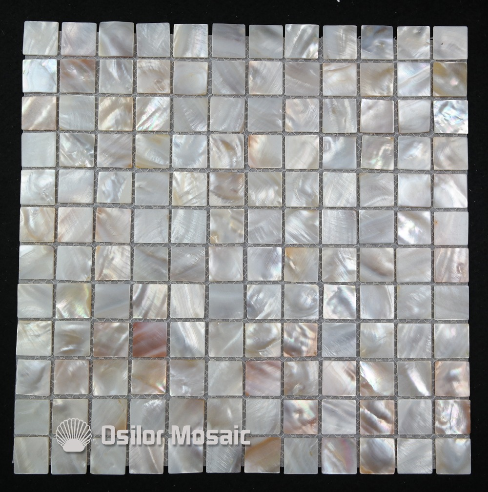 Come Decorare Piastrelle Cucina us $160.5 |natural color 100% natural chinese freshwater shell mother of  pearl mosaic tile for kitchen and washroom decoration wall tile-in  wallpapers