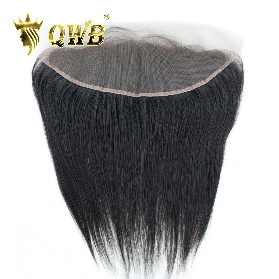 QWB Queen Weave Beauty Straight Free shipping 12 14 16 18 Brazilian Virgin Hair Nature Color
