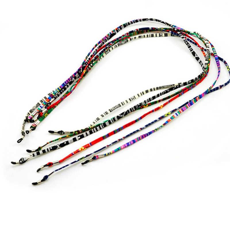 ファッションシックなカラフルな眼鏡チェーンサングラス読書綿ビーズメガネ Eyewears コードホルダーネックストラップロープ