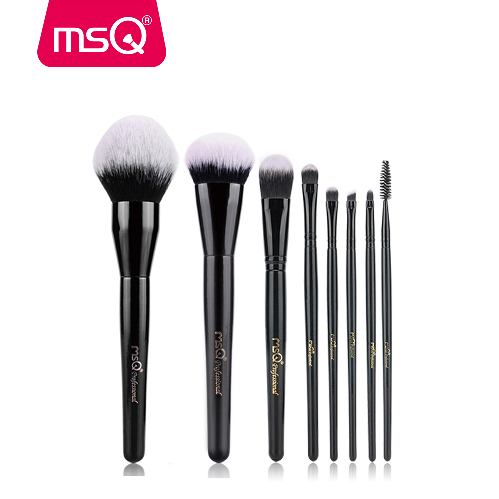 MSQ Professional Makeup Brushes Set Blush Blusher Large Size Powder Foundation Make Up Brush Cosmetic Beauty Tool Free Shipping 8pcs rose gold makeup brushes eye shadow powder blush foundation brush 2pc sponge puff make up brushes pincel maquiagem cosmetic