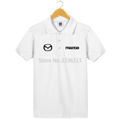 Men And Women Tooling 4s Shop Uniforms Short-sleeved Mazda T-shirt Custom Cotton Car Standard T Shirt Back To Search Resultsmen's Clothing