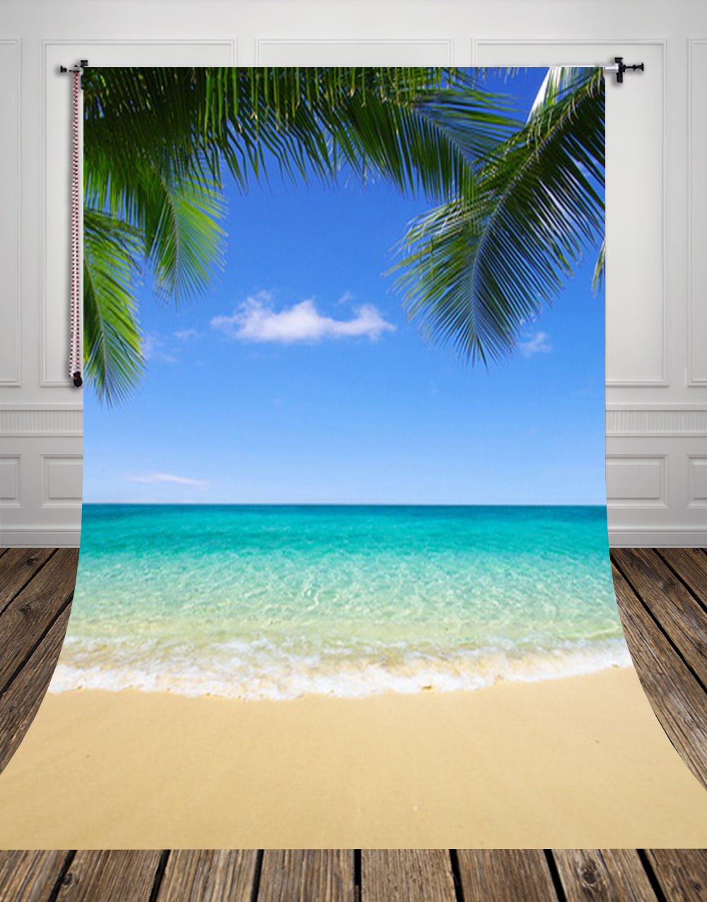150*220CM Hawaii beach Photography Background Digital Printing Newborn Backdrops For Photo Studio or party D-8538 пенетрон 10кг