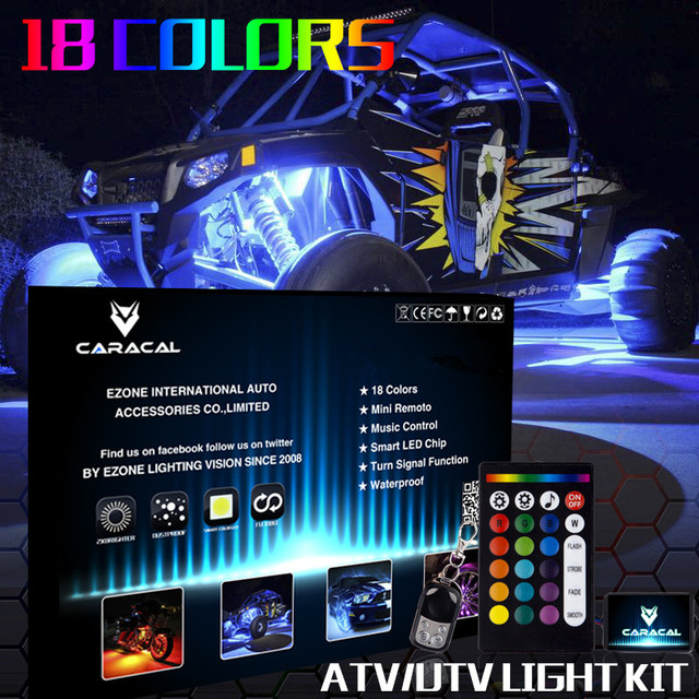 4pc MILLION COLOR LED GOLF CART LED UNDERGLOW LIGHT KIT w CONTROL BOX 12V  sc 1 st  AliExpress.com & 4pc MILLION COLOR LED GOLF CART LED UNDERGLOW LIGHT KIT w CONTROL ...