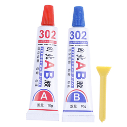 302 Metal Wood Fabric Rubber Leather Plastic Liquid Strong Super AB Glue UV Adhesive Universal Cyanoacrylate Epoxy Glue