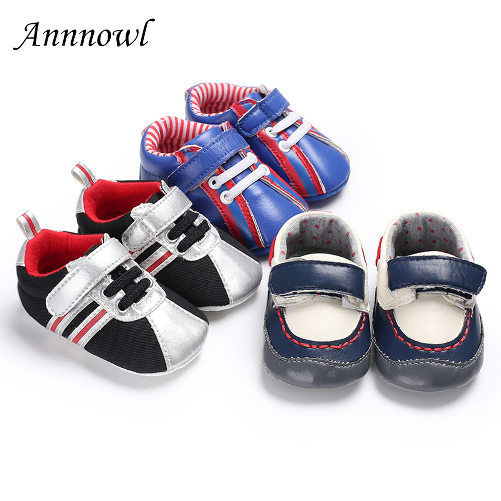 Fashion Baby Crib Shoes New Born Footwear Soft Bottoms Toddler tennis Infant Boy Sneaker ...
