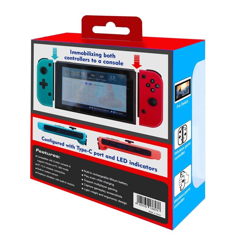 Controlador de Control de Mando profesional inalámbrico Bluetooth para consola de interruptores Nintend controlador de Gamepads Joystick para Switch dos switch joy con - 5