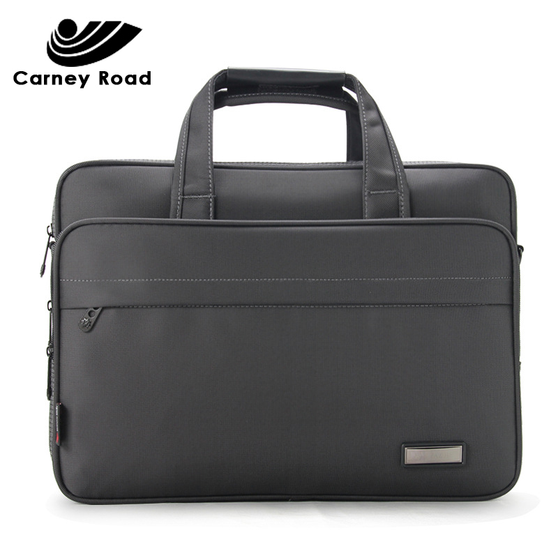 Large Capacity Business Men Briefcase 14 15 Inch Laptop Handbag Casual Fashion Waterproof Messenger Shoulder Bag Office Bag