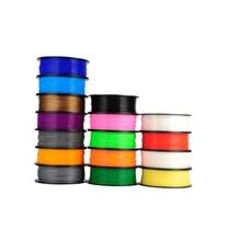 High Quality 13 Colours 3D Printer Filaments  Consumables Material,1.75/3mm ABS / PLA Optional for 3d pen 3d printer