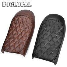 цены на BJGLOBAL 1X Vintage Saddle Seat Hump Covers Cushion For Cafe Racer Honda CB125 CB175 CB200 CB350 CL200 SR125 SR250  в интернет-магазинах