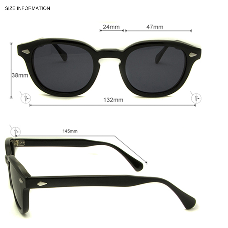 31c2accb4ba25 Товар Retro Vintage Sunglasses Fashion Male Round Shapes Johnny Depp ...